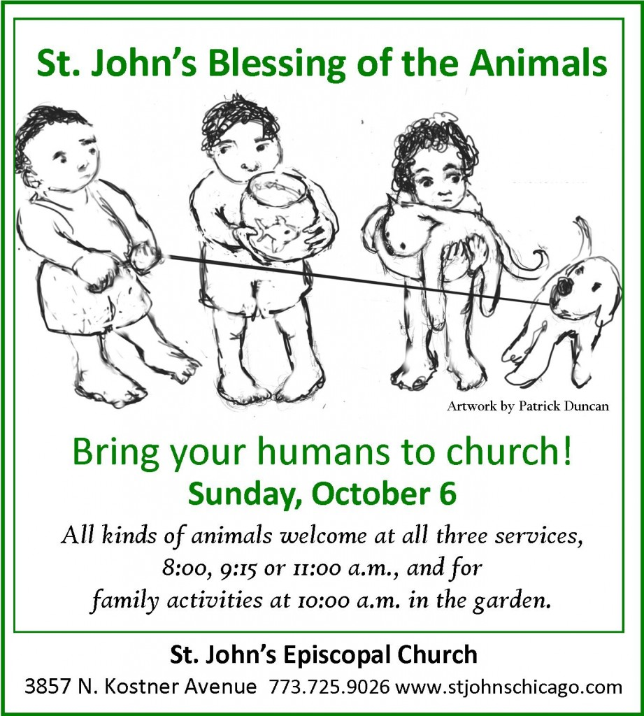 2013 pet blessing e postcard