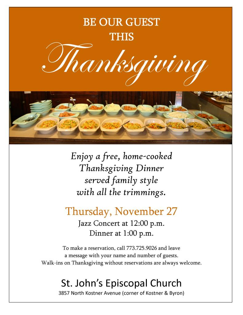 thanksgivng flyer