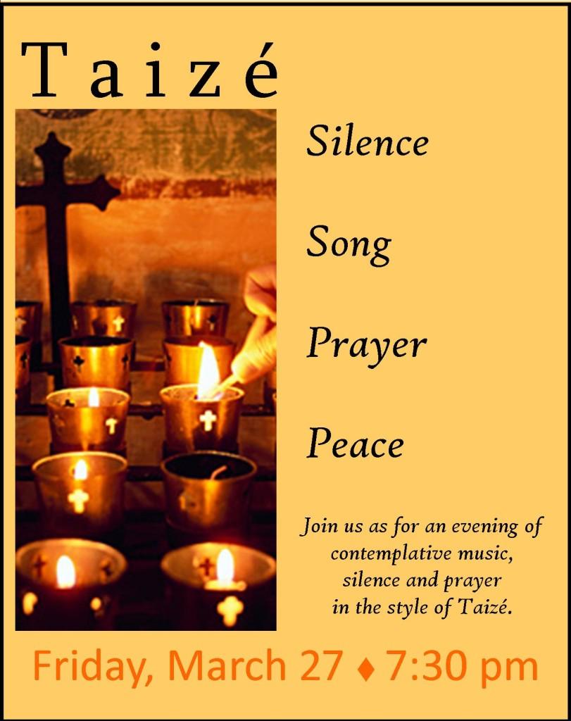 taize postercard
