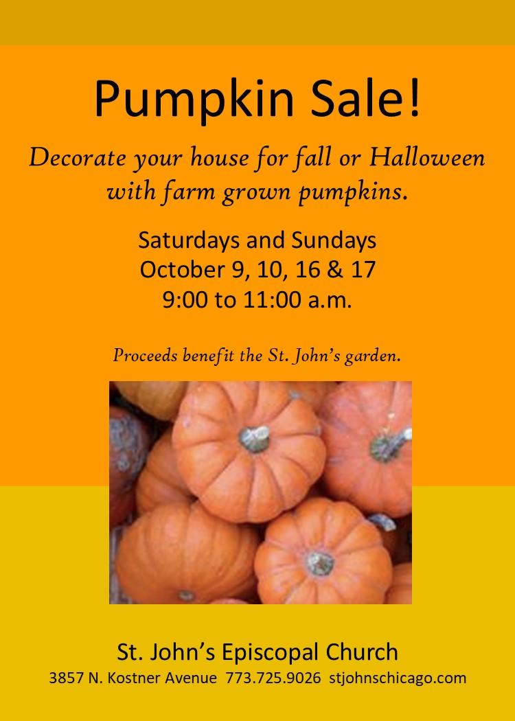 Pumpkin Sale!